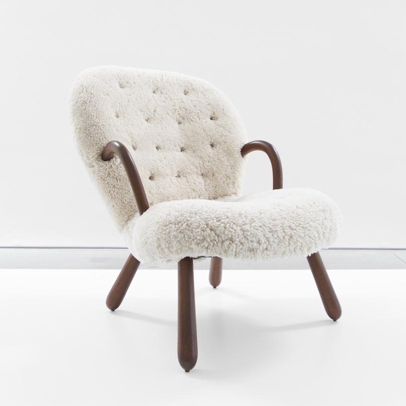 philip arctander  'Clam' Chair  c. 1940s ...