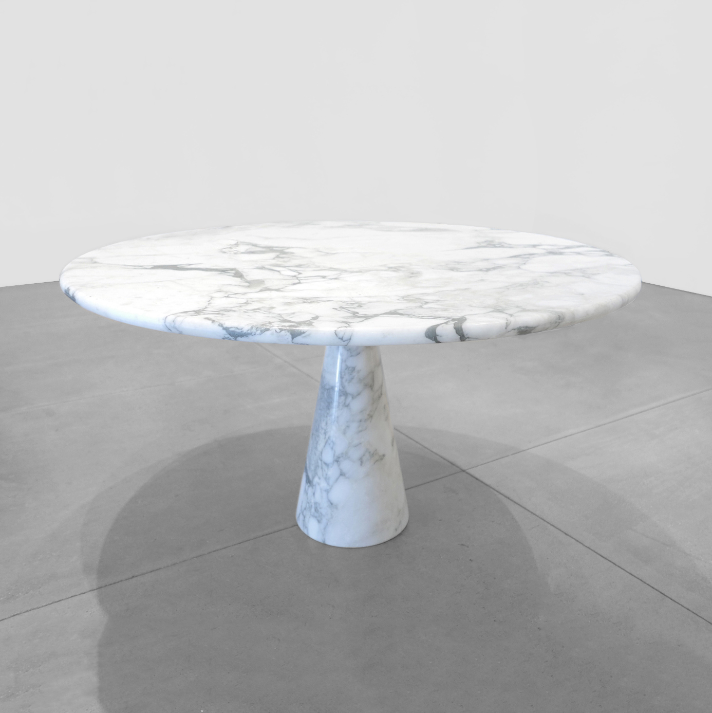 angelo mangiarotti  italian marble table  c. 1960s ...