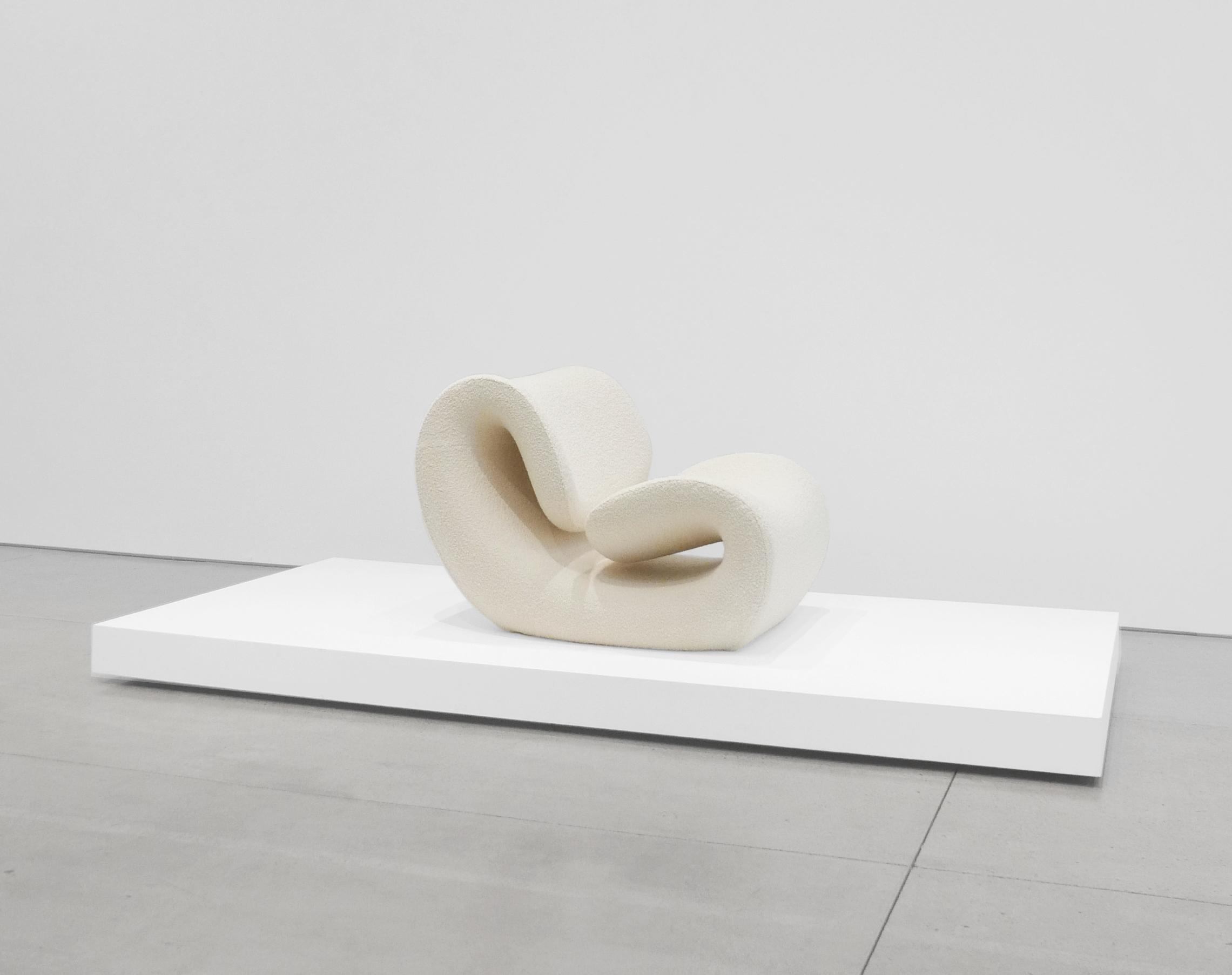 Jean-Pierre Laporte, 'Esox' Chair, c. 1970-1974, Dedar Milano Boucle Wool, Fiberglass, 35.5 H x 37 W x 28 D inches_4.jpg