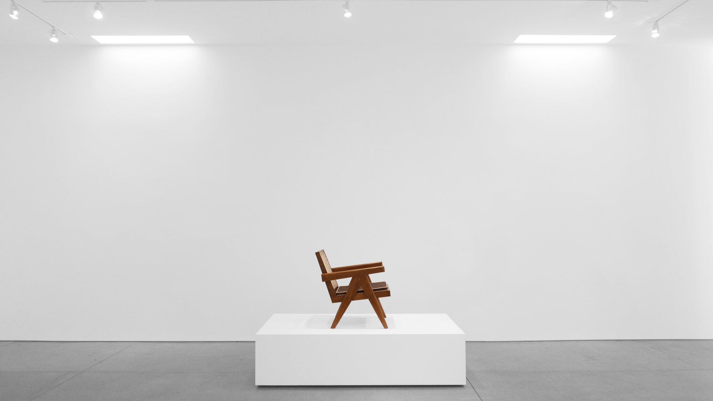 Pierre Jeanneret, Low lounge chair, model PJ-SI-29-A, c. 1955, teak, cane, 24.5H x 20.5W x 29.5D inches_4.jpg