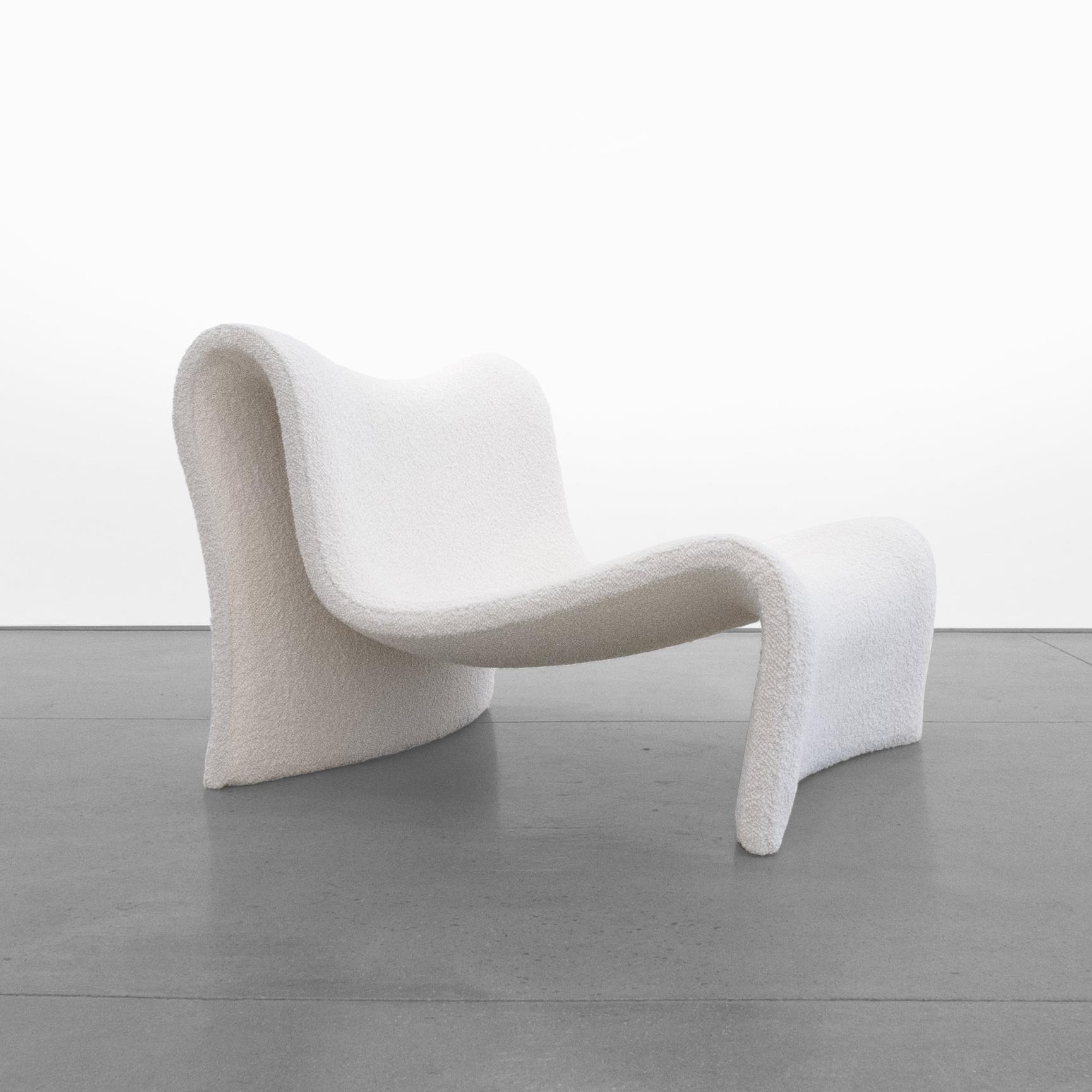 mid-century wave chair 20th century …