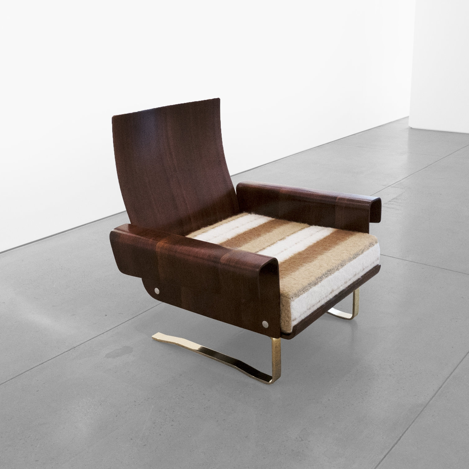 mid-century cantilever lounge chair 20th centiury …