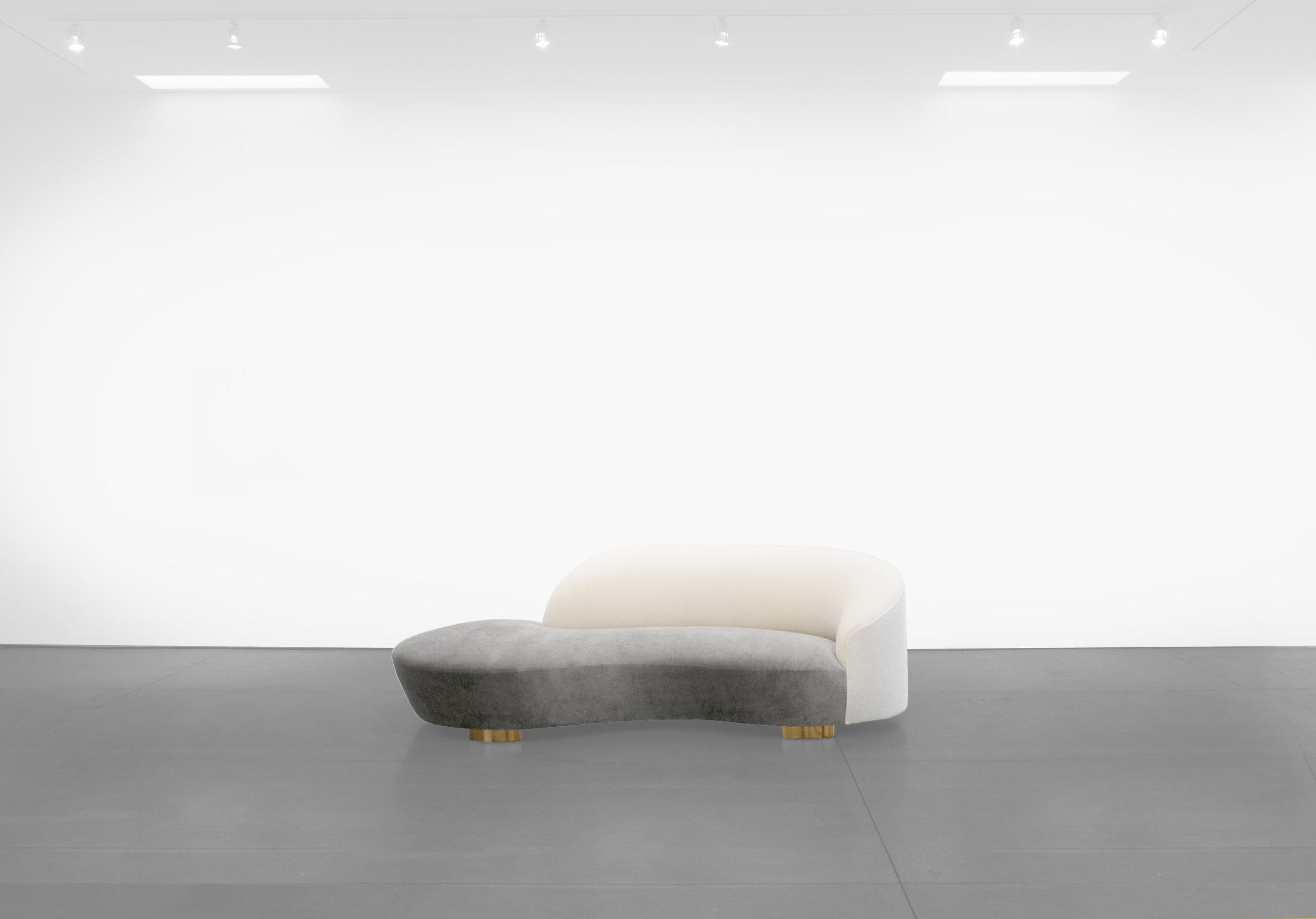 Vladimir Kagan, 'Cloud' Sofa, c. 1970 - 1979, Wood, Dedar Milano Upholstery, 32.5 H x 98 W x 16 D incehs_1.jpg