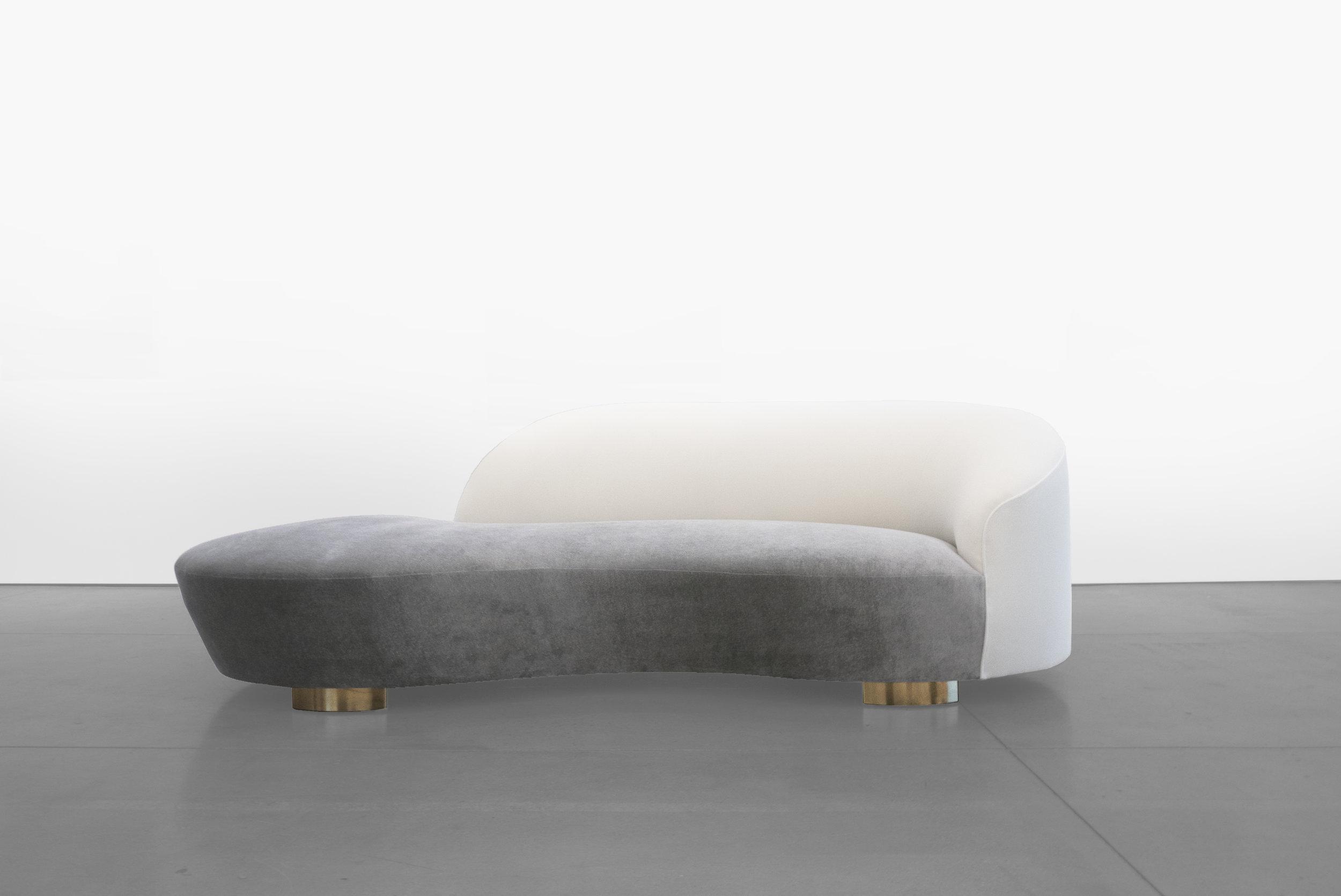 Vladimir Kagan, 'Cloud' Sofa, c. 1970 - 1979, Wood, Dedar Milano Upholstery, 32.5 H x 98 W x 16 D incehs_2.jpg