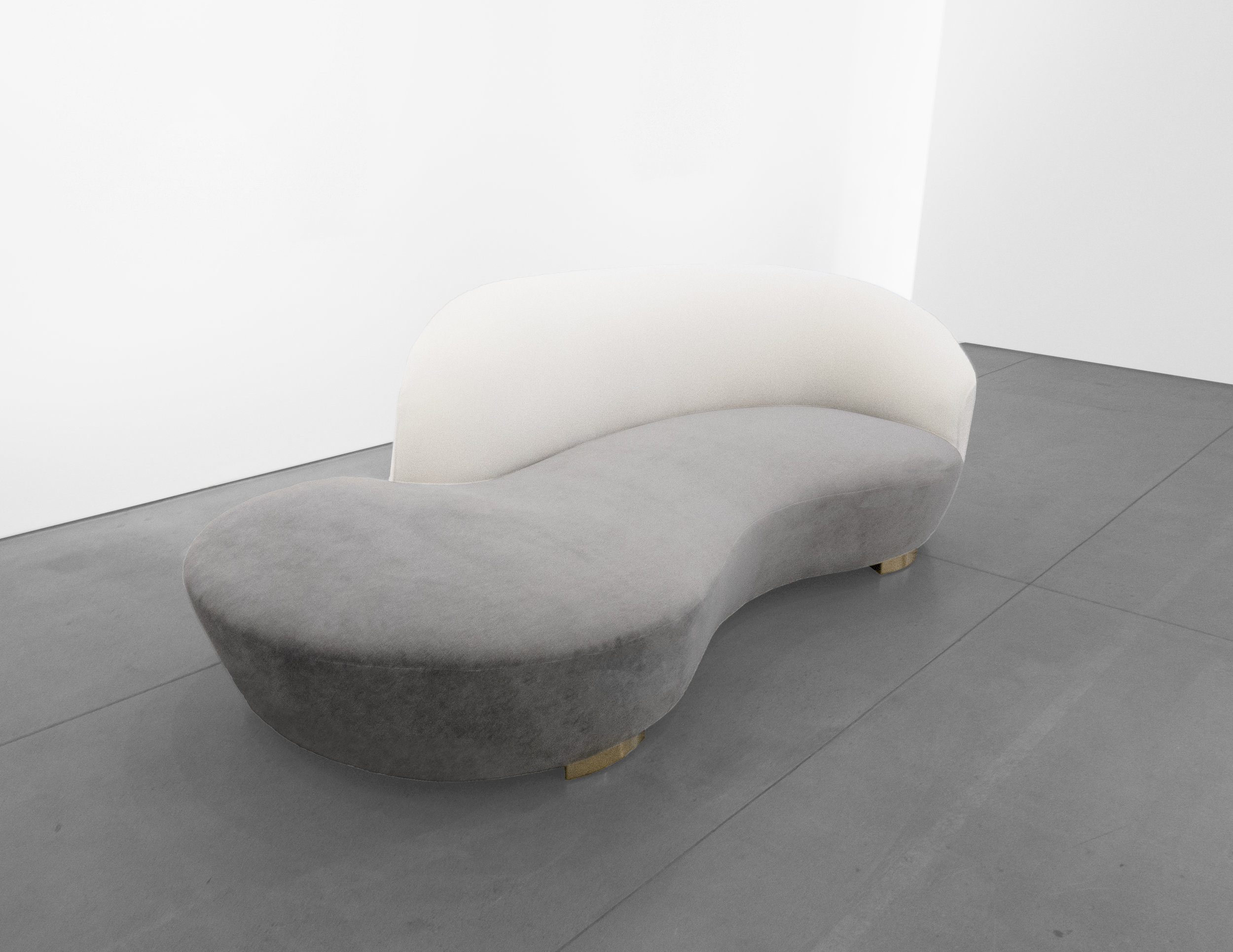 Vladimir Kagan, 'Cloud' Sofa, c. 1970 - 1979, Wood, Dedar Milano Upholstery, 32.5 H x 98 W x 16 D incehs_8.jpg