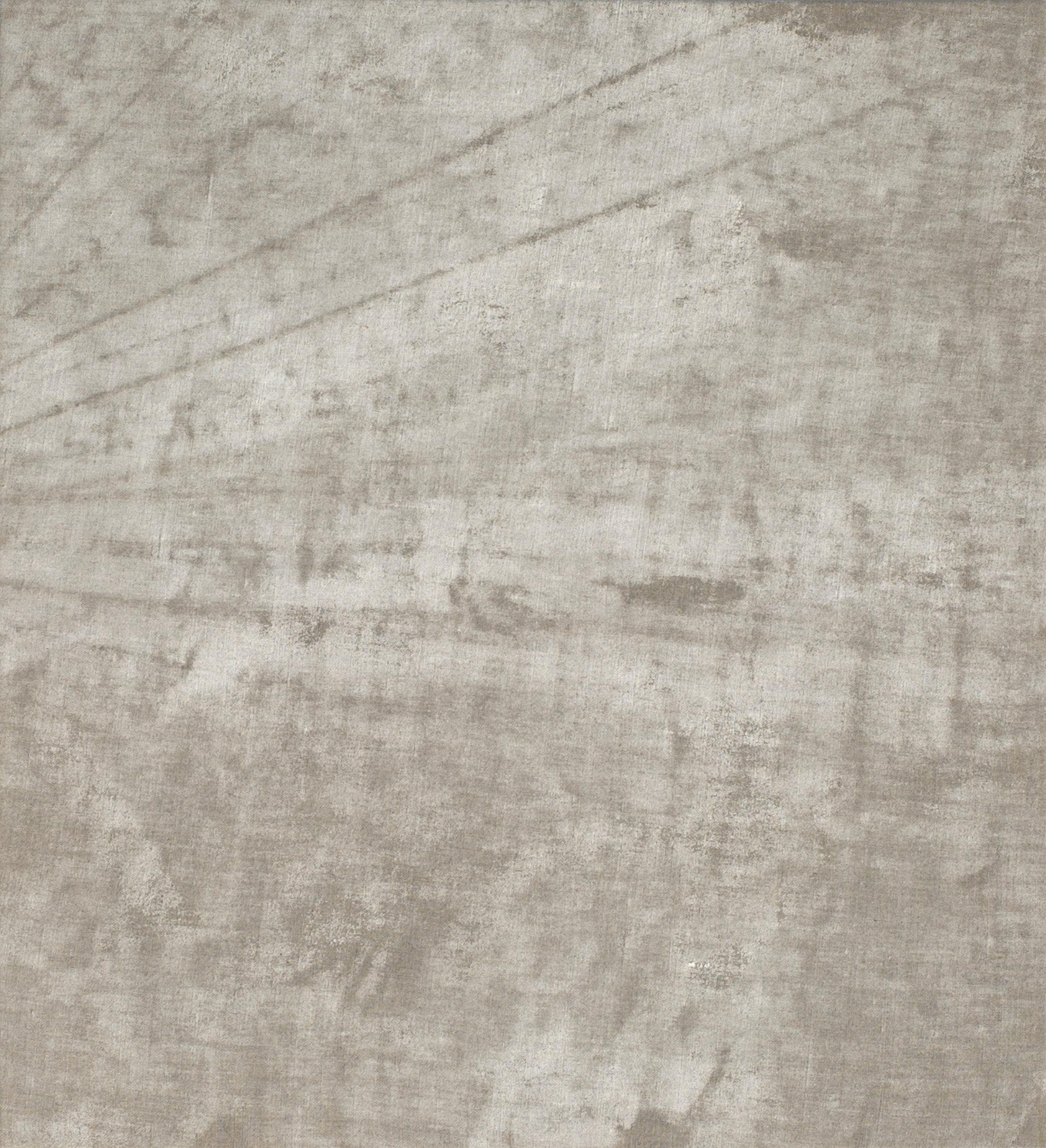 "sandbars under situational restraints  2018 mixed media on linen 22 x 20""   INQUIRE"