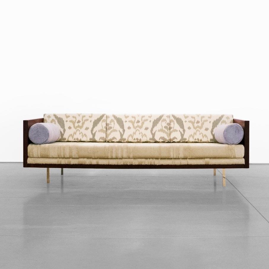 milo baughman rosewood case sofa c. 1950 - 1959 …
