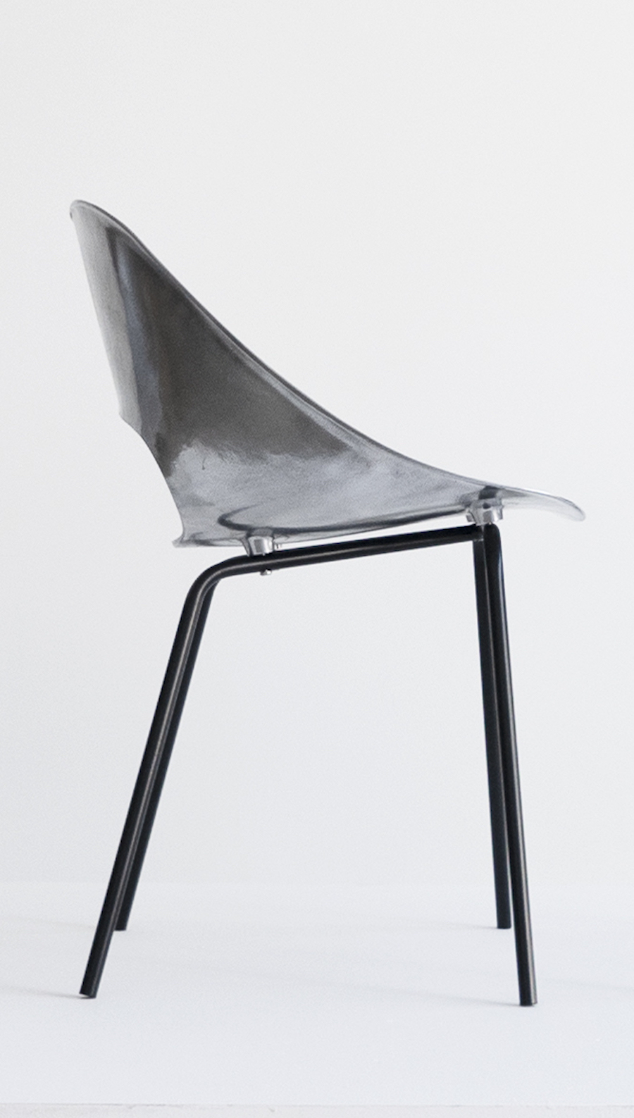 "Pierre Guariche, Set of Three ""Tonneau"" Cast Aluminum Chairs, c. 1950-1959, Aluminum, Iron, 28 H x 18 W x 16 D inches_7.jpg"