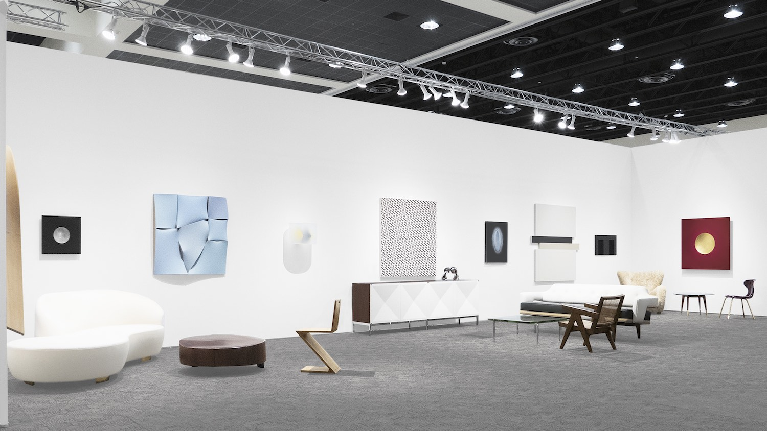 Art Palm Springs 2018, Peter Blake Gallery, Installation View_5.jpg