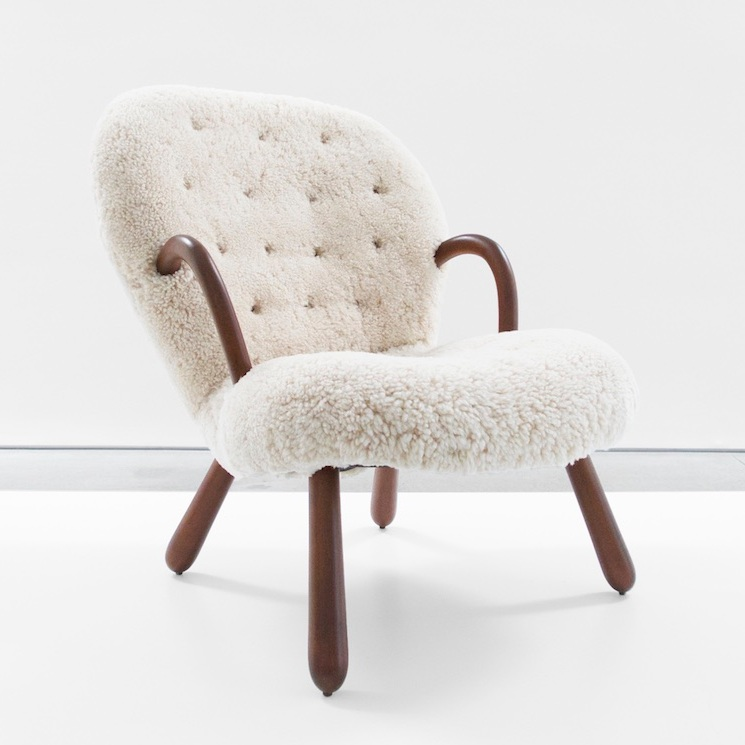 philip arctender 'clam' chair SOLD