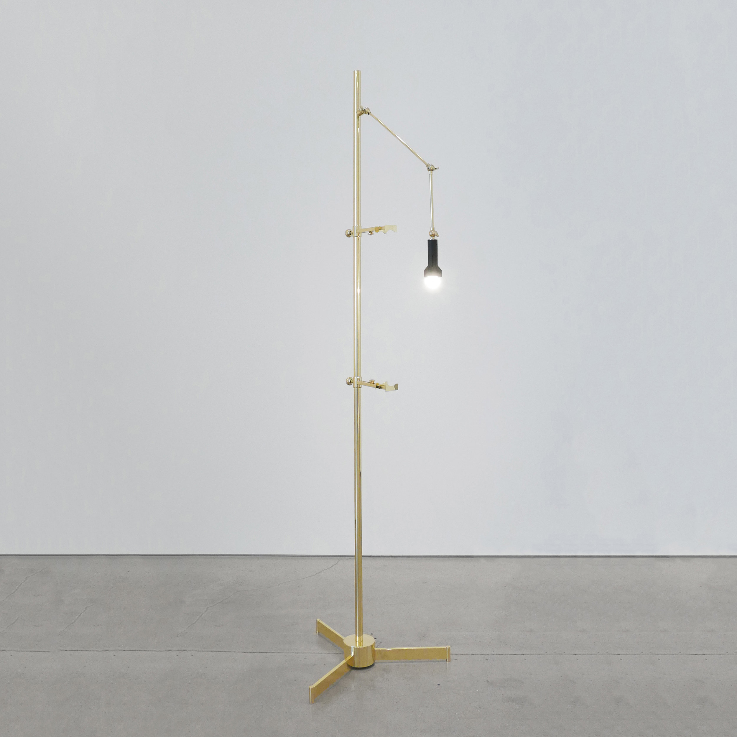 angelo lelli easel lamp for arredoluce $11,500