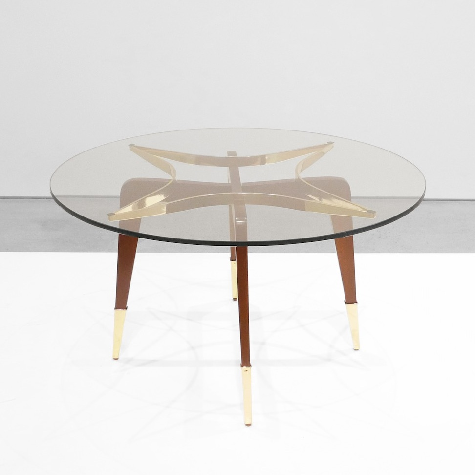 paolo buffa attrib. mid-century coffee table $4,500