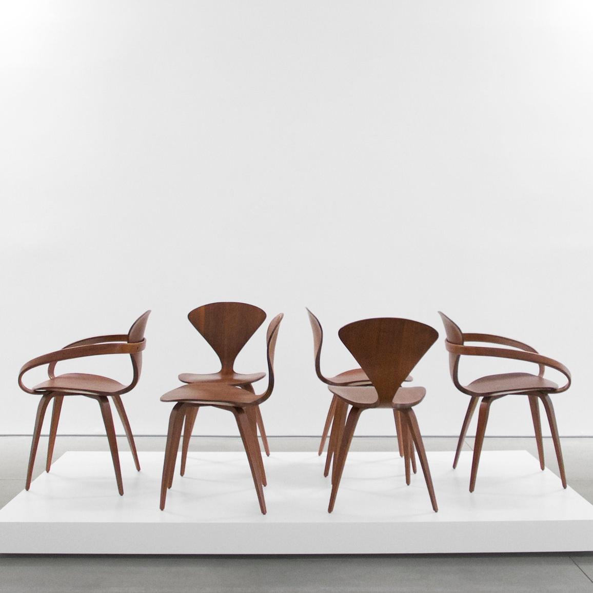 norman cherner pretzel chairs sold