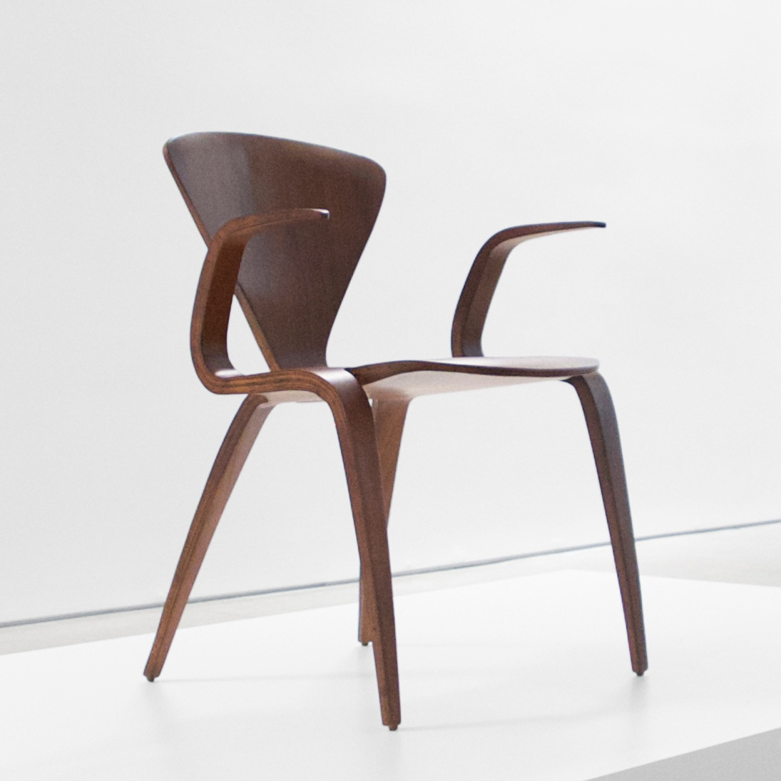 norman cherner rare prototype armchair for plycraft $15,000