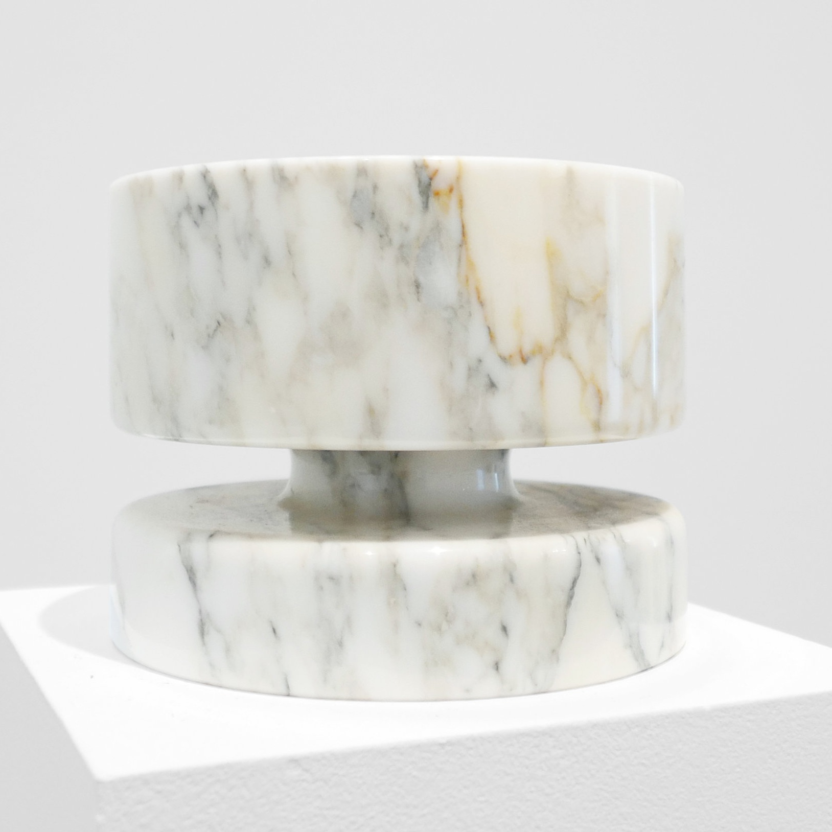 angelo mangiarotti marble bowl for knoll sold