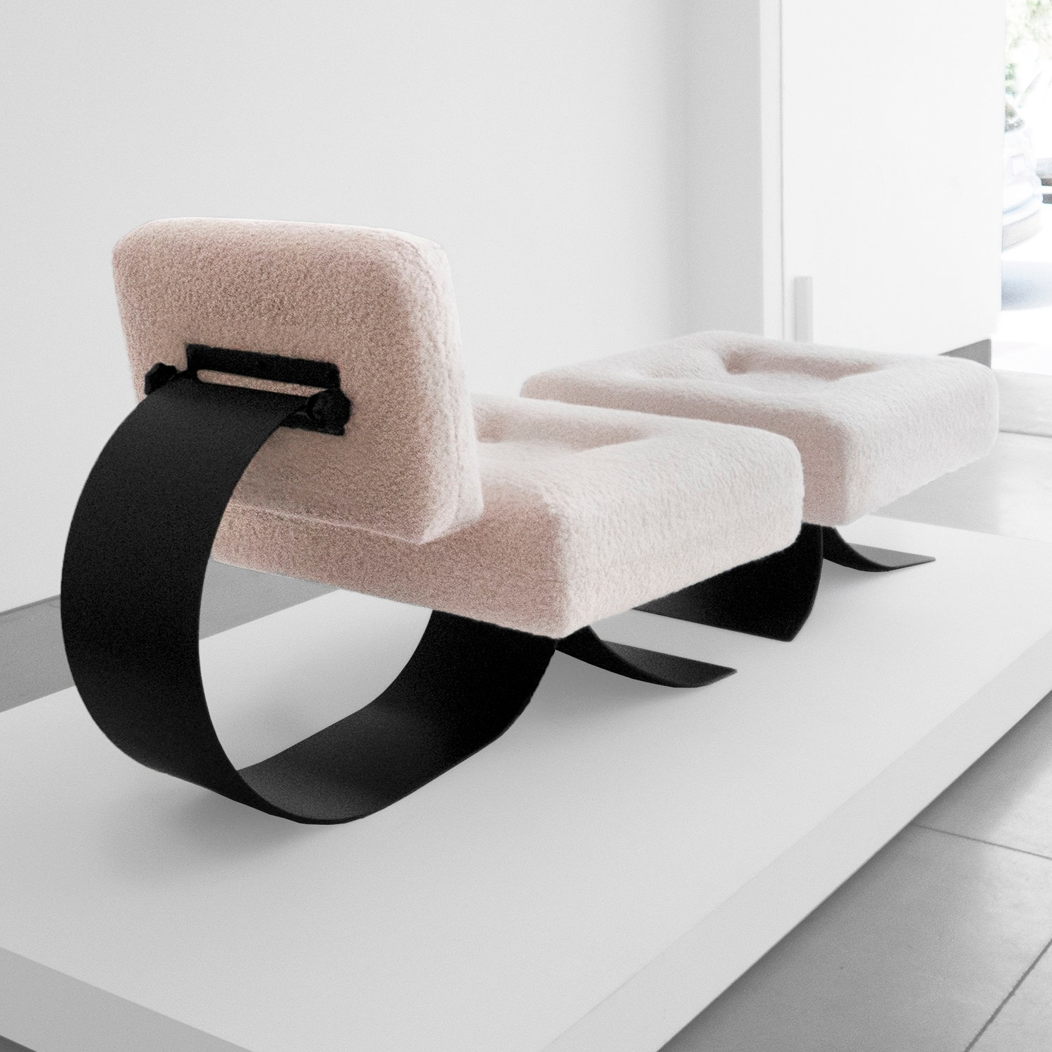 oscar niemeyer attrib. re-issue prototype 'alta' chair SOLD