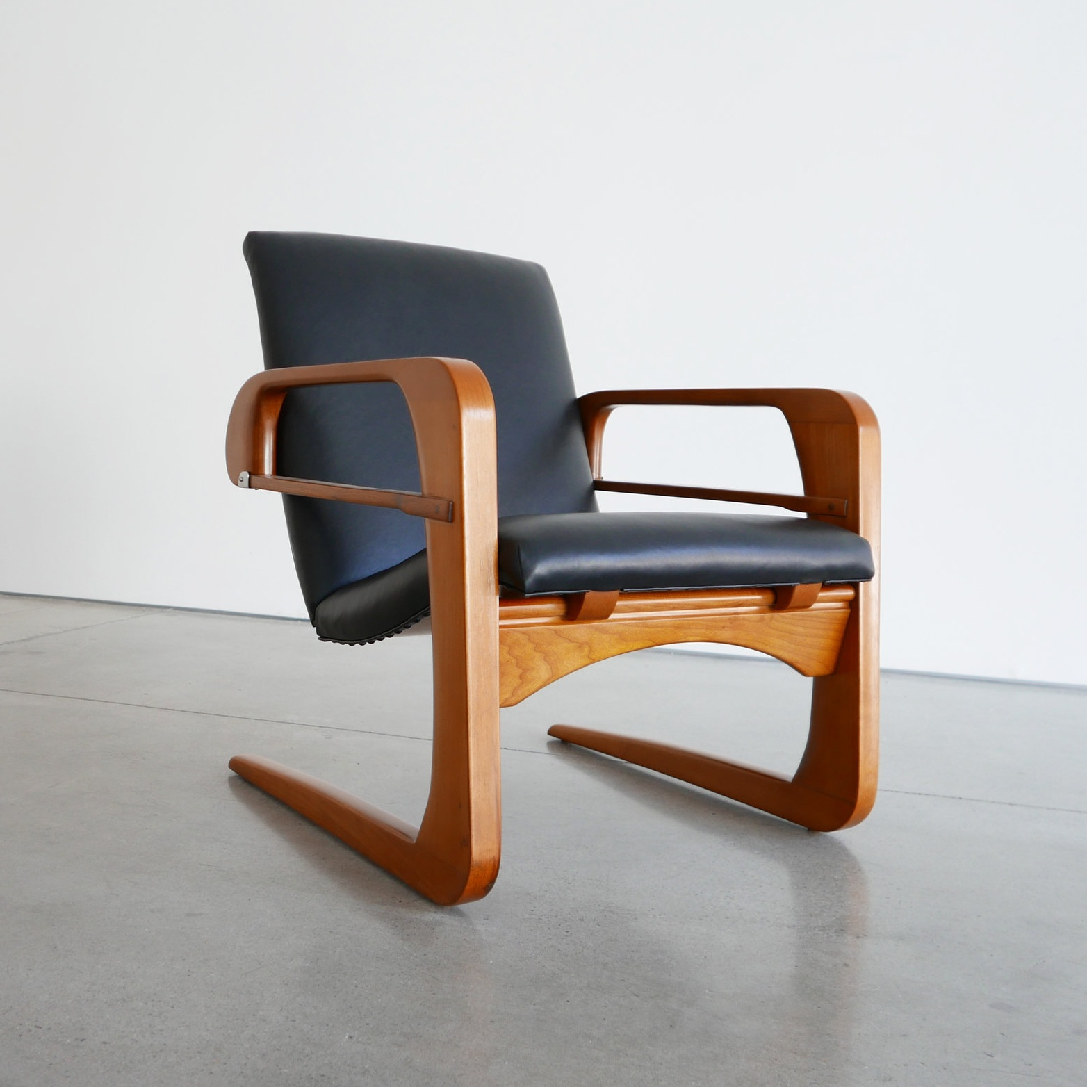 kem weber  'airline' armchair sold