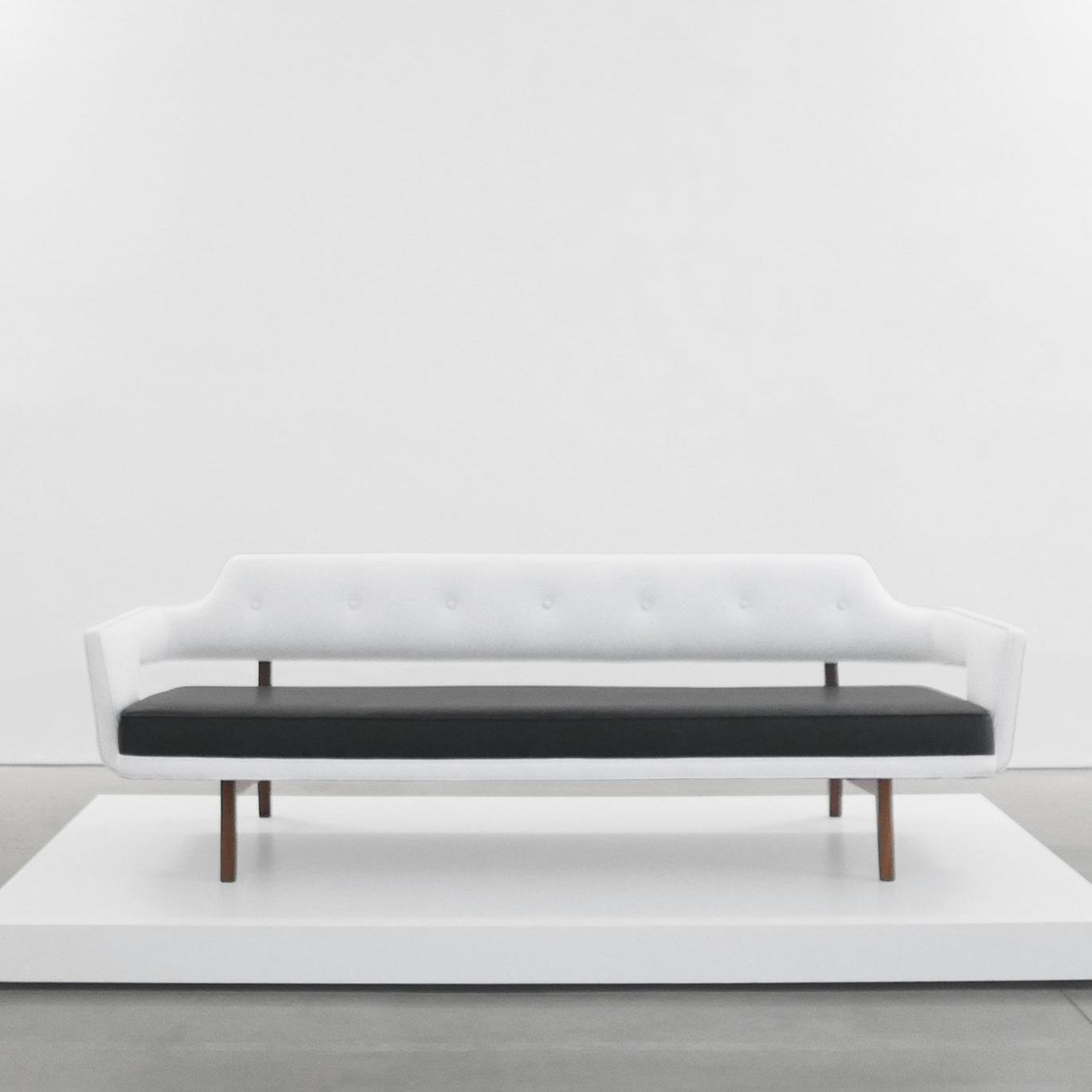 edward wormley sculptural sofa sold