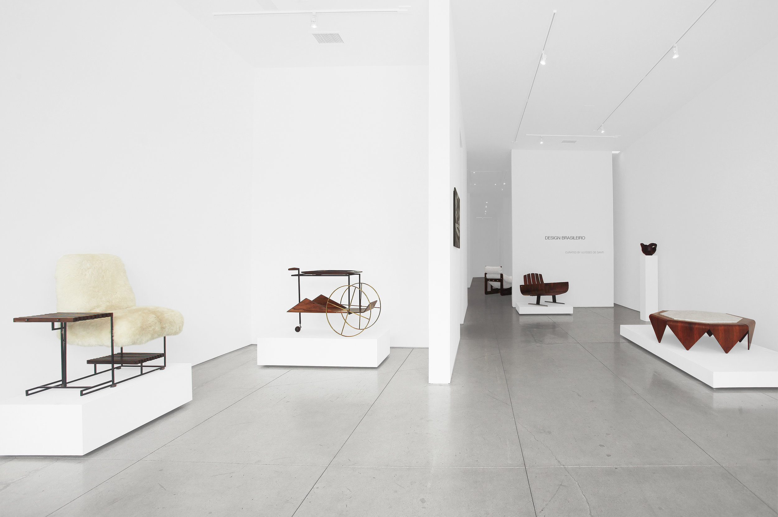 Design Brasileiro, Curated by Ulysses de Santi, Peter Blake Gallery, 2018, Installation View_0.jpg