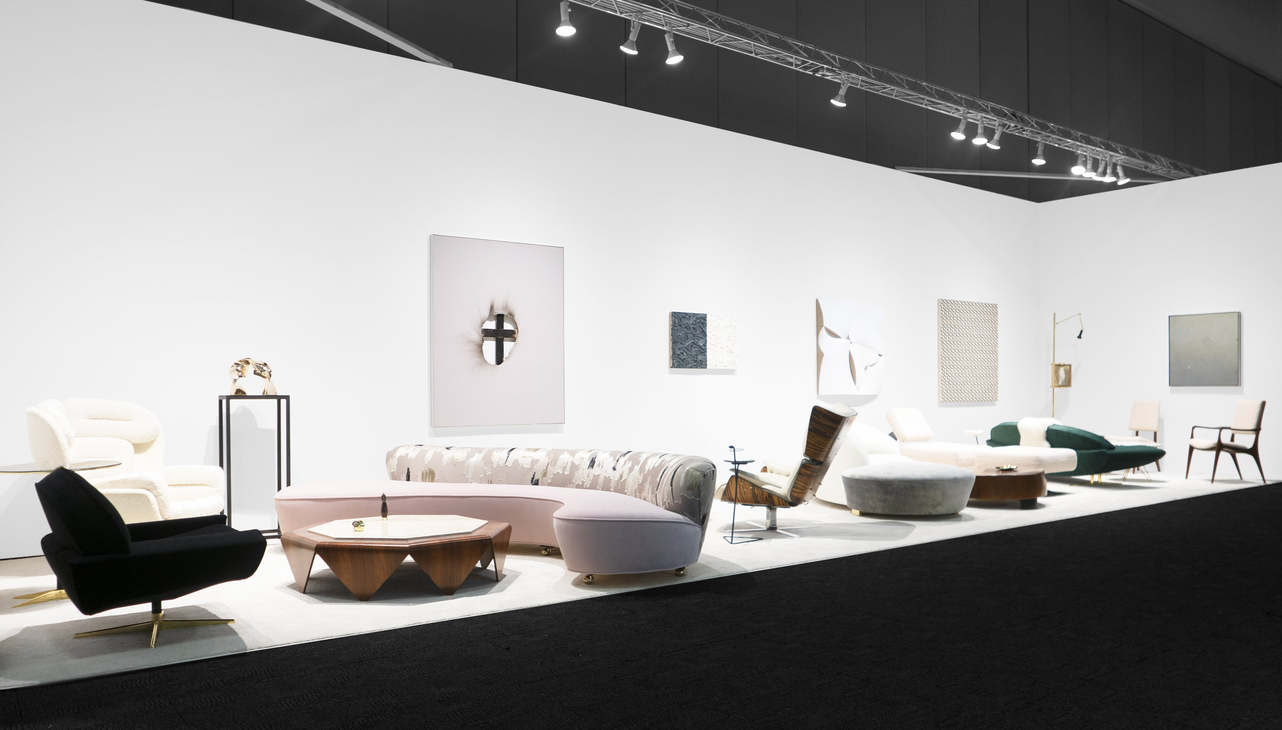 Palm Springs Modernism Show Spring Edition 2019_Peter Blake Gallery_Installation View_1.jpg