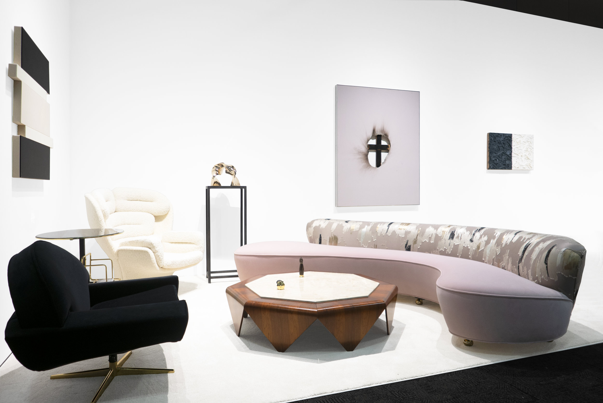 Palm Springs Modernism Show Spring Edition 2019_Peter Blake Gallery_Installation View_4.jpg