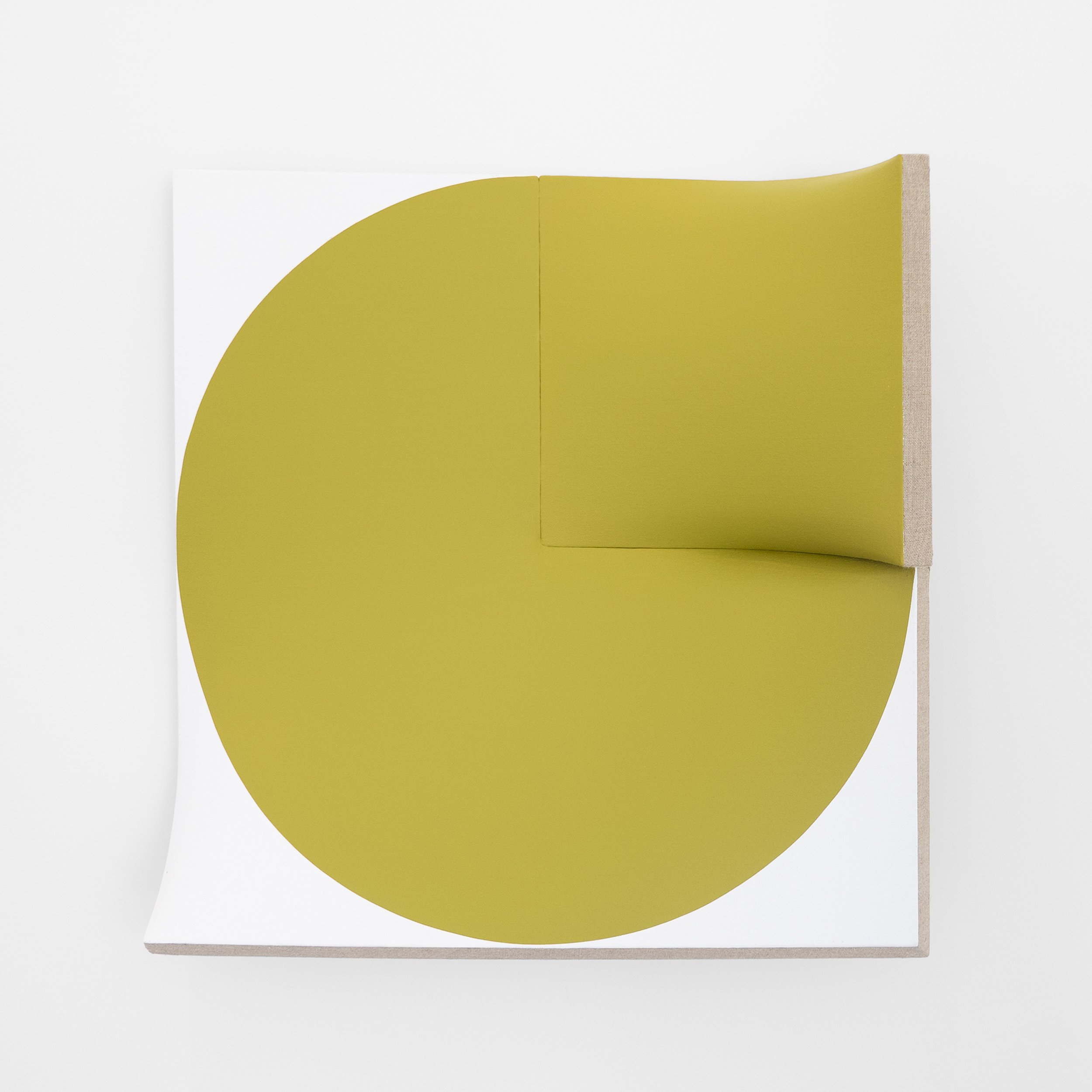 IMPROVED FLAT OUT POINTLESS CUT-OUT YELLOW GREEN