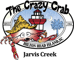 The Crazy Crab Jarvis Creek Logo