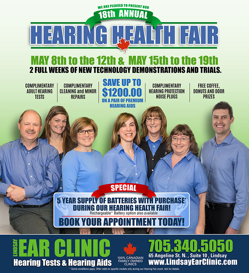 hearing health fair 2017