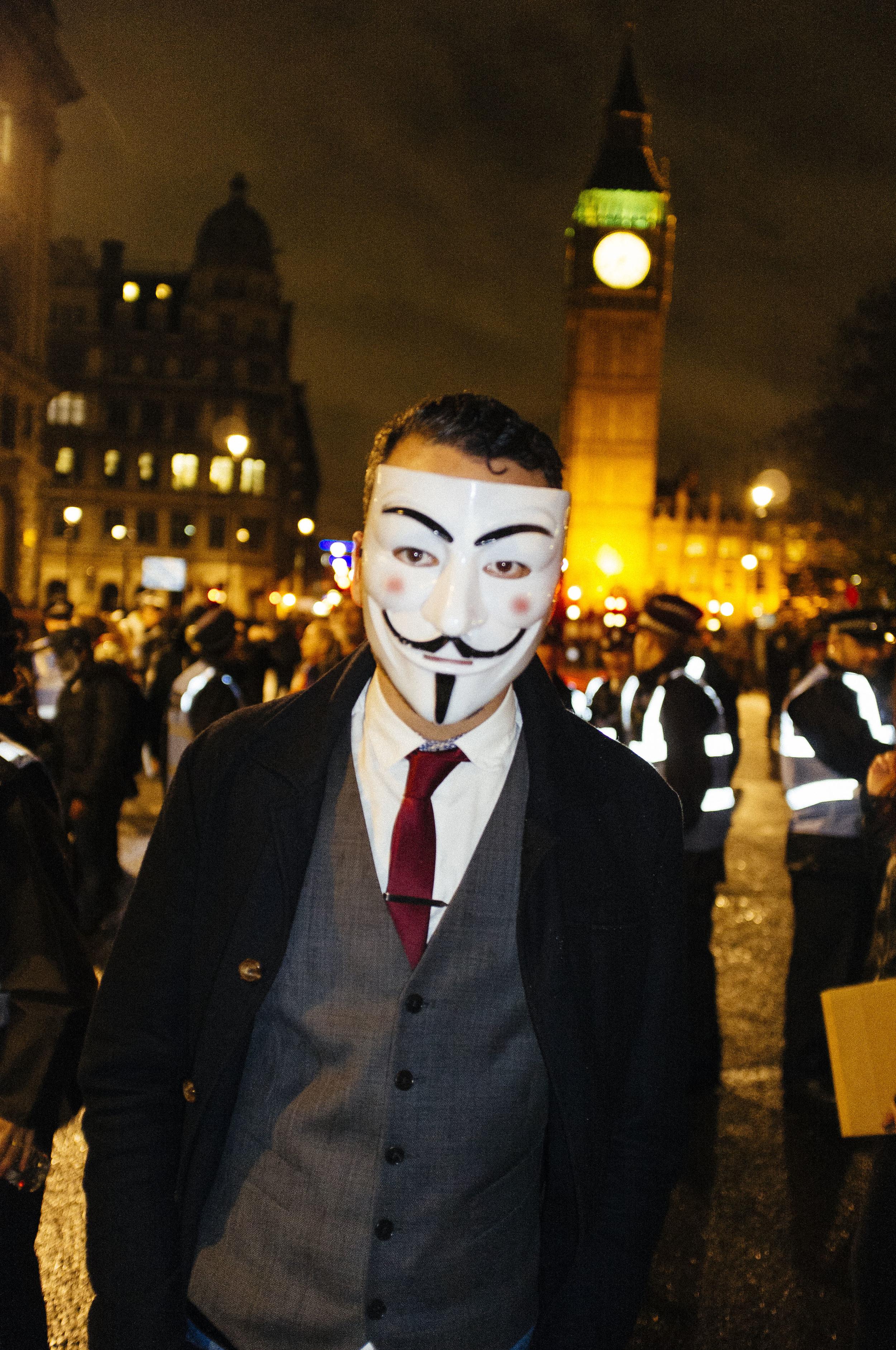 Million Mask March 5 Nov - 2015