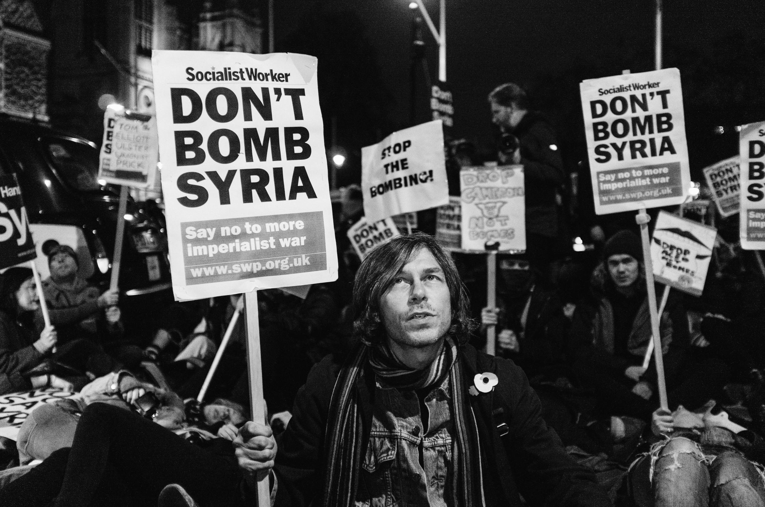 Stop the War Demonstration 2 Dec - 2015