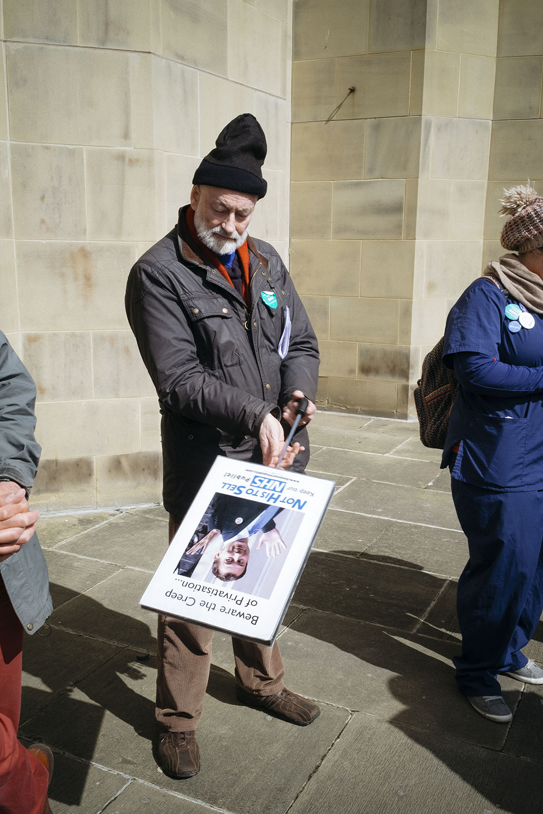 March for the NHS - Leeds, 16th of April -2016
