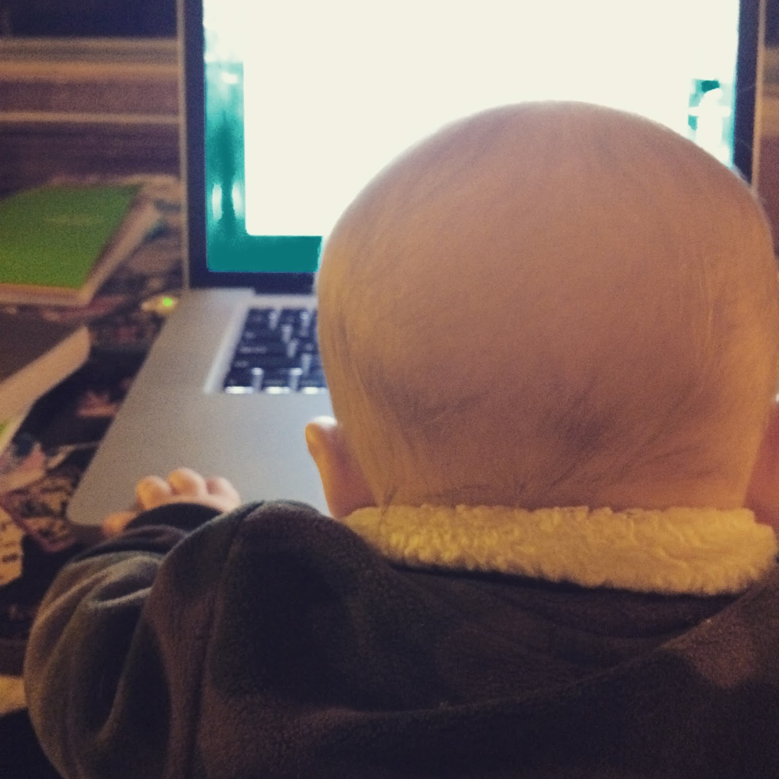 MacBooks are so awesome, even babies can use them.