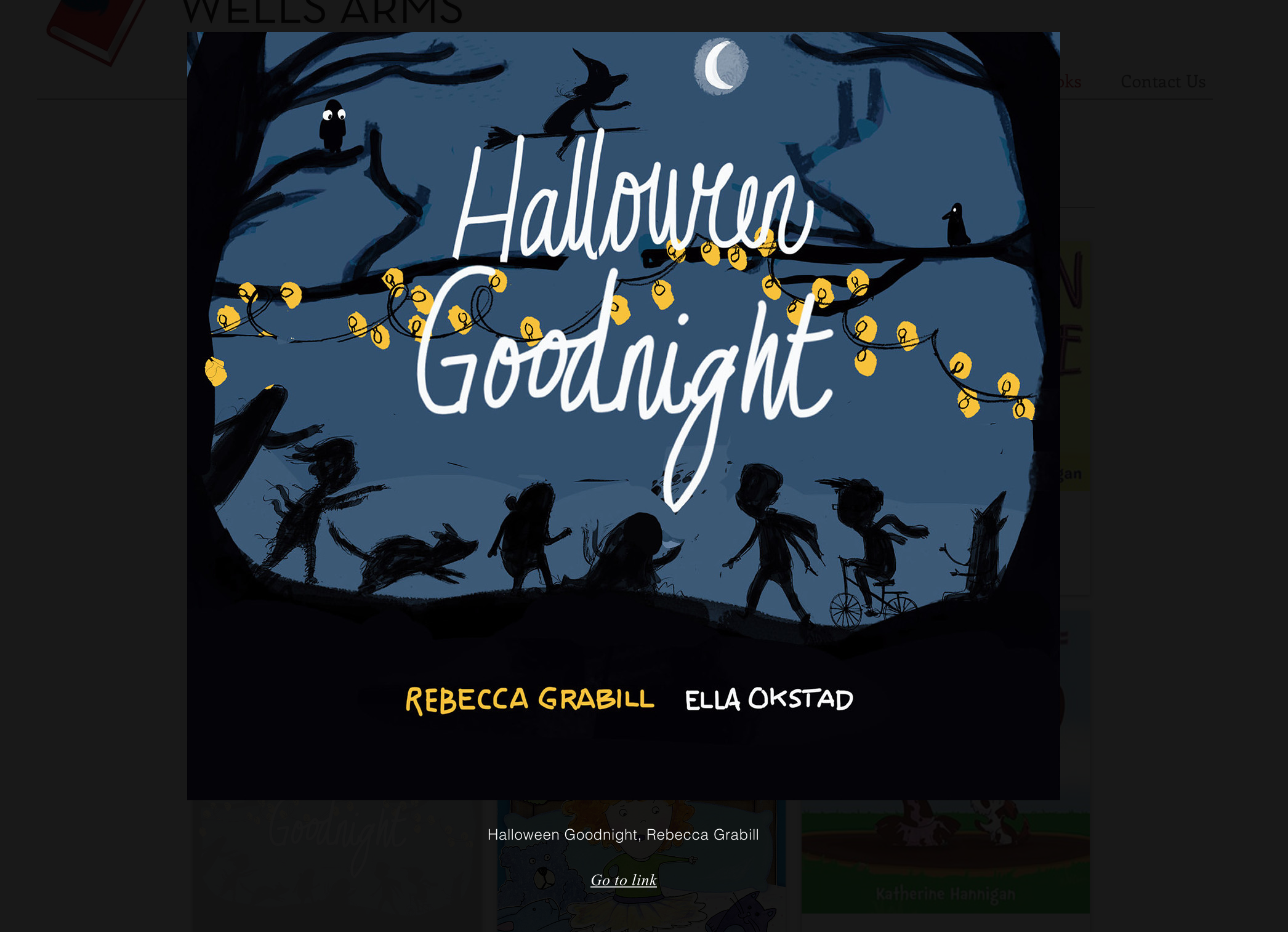 Halloween goodnight book cover