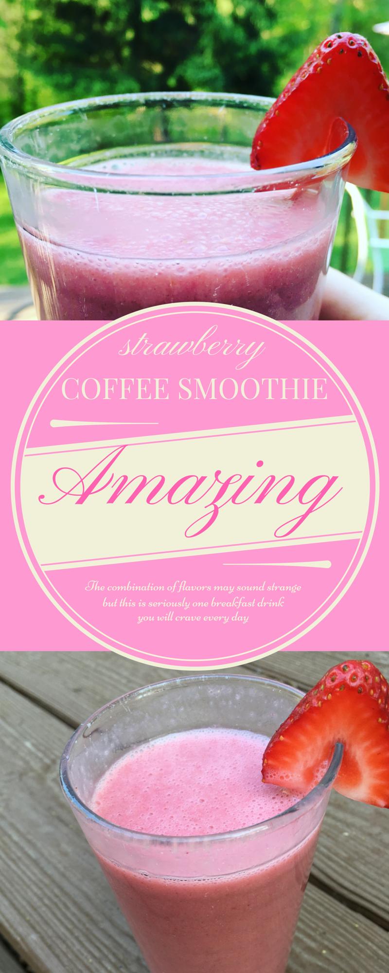 strawberry coffee smoothie gluten dairy free