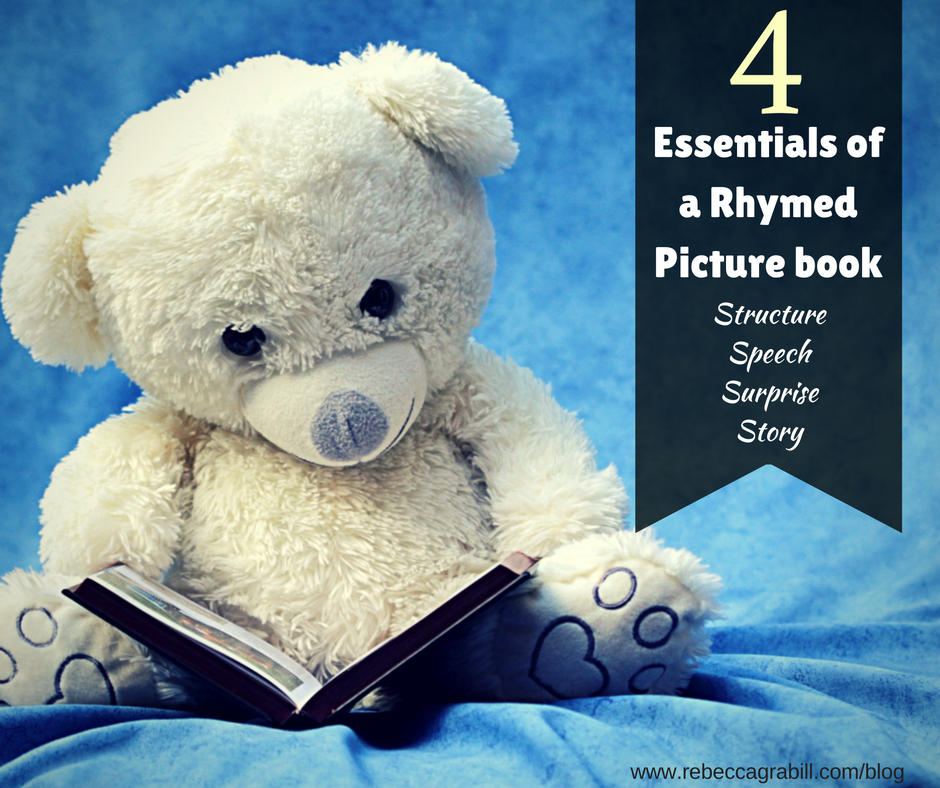 4 essentials of a rhymed picture book