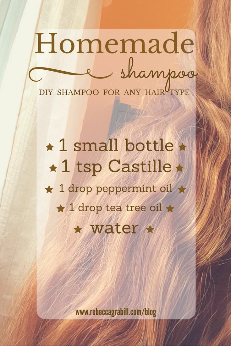 homemade diy shampoo that works