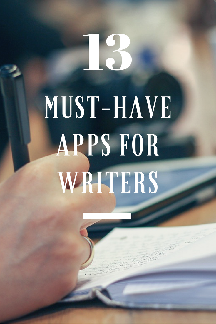 13 must have apps for writers