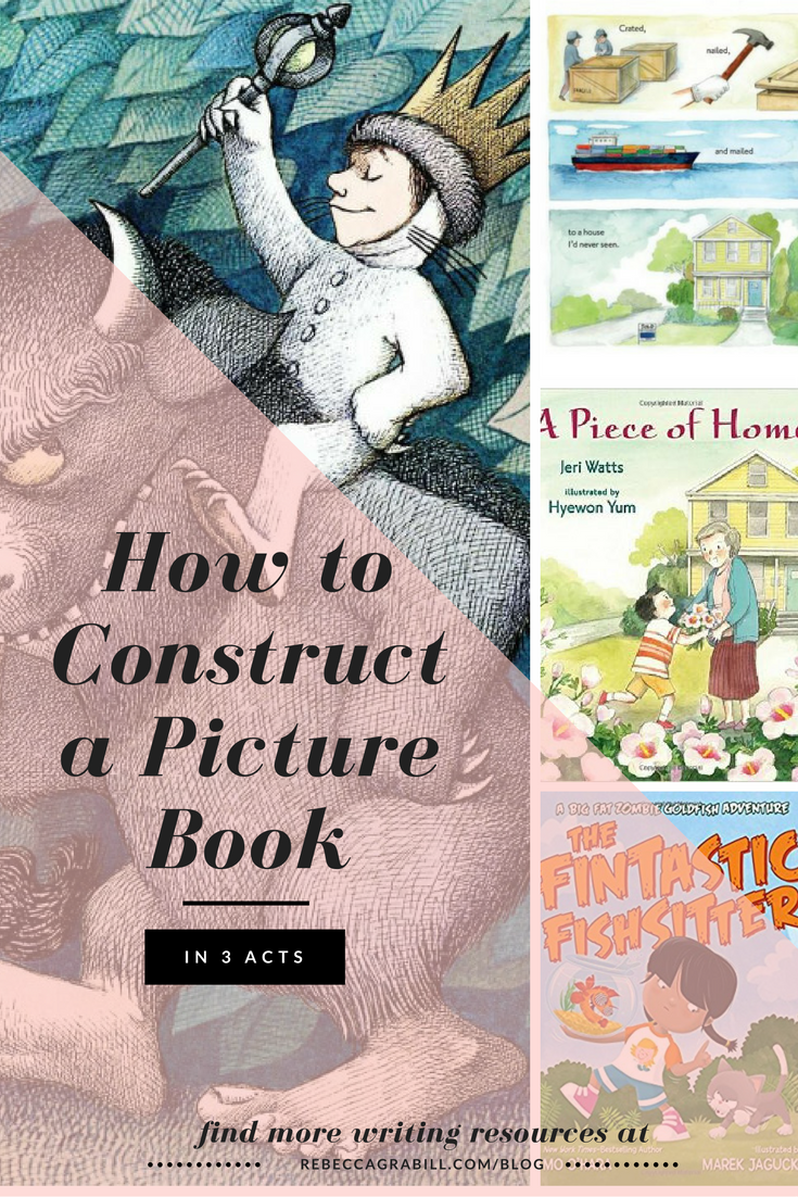 how to write a picture book in three acts