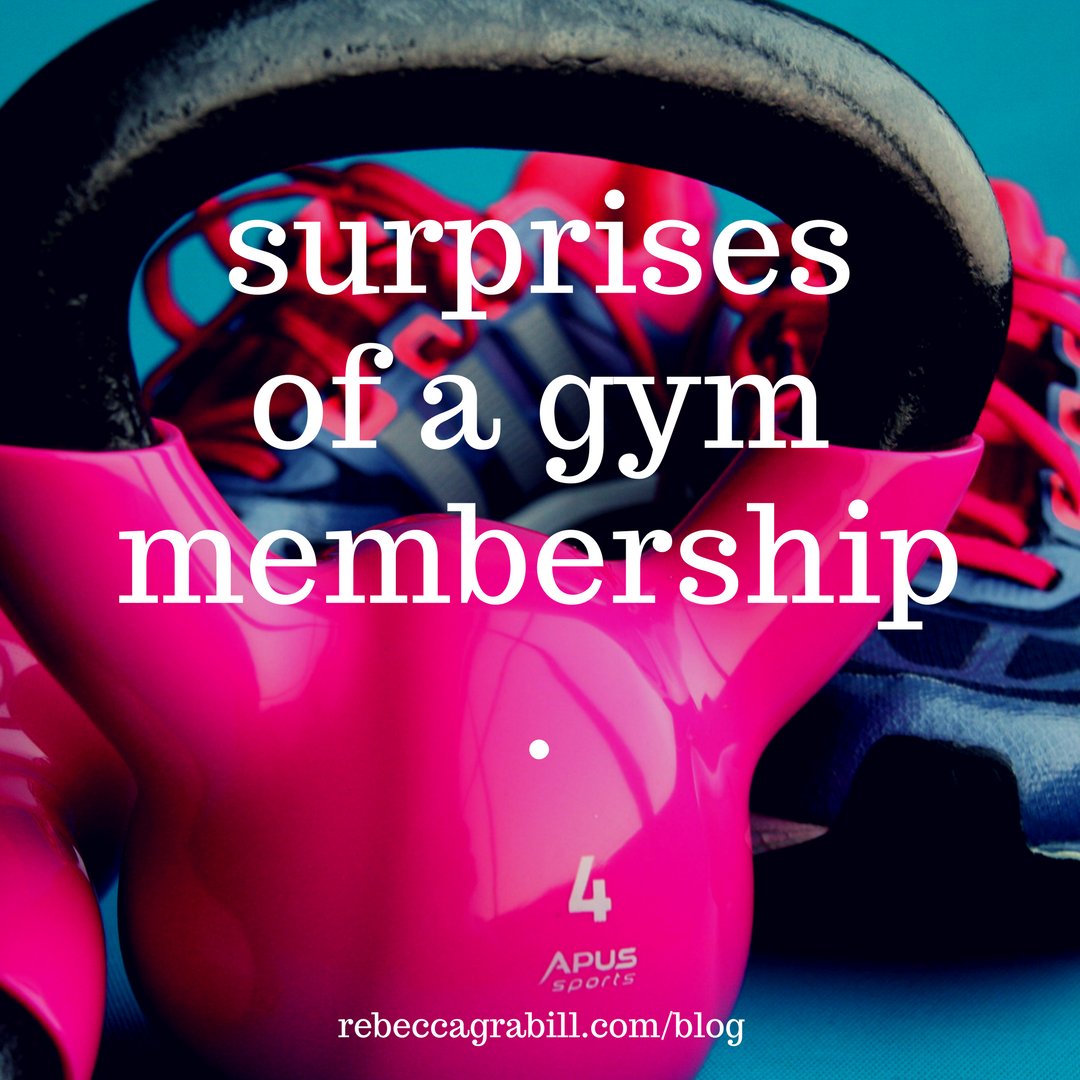 What surprised me most about our first gym membership...