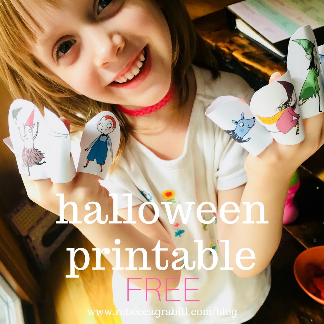 FREE Halloween Printable for the book by Rebecca Grabill Halloween Good Night