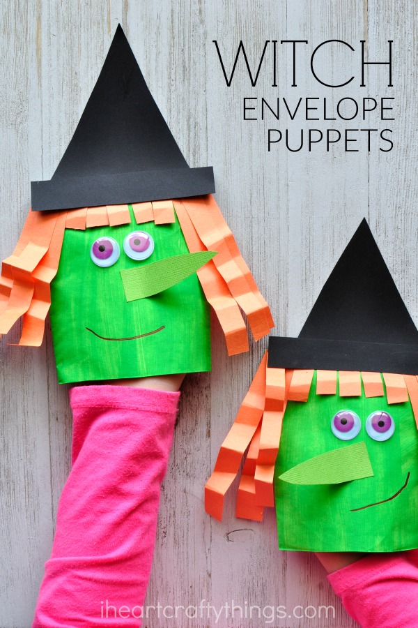 Puppets are ALWAYS a hit, and these are so simple and quick!