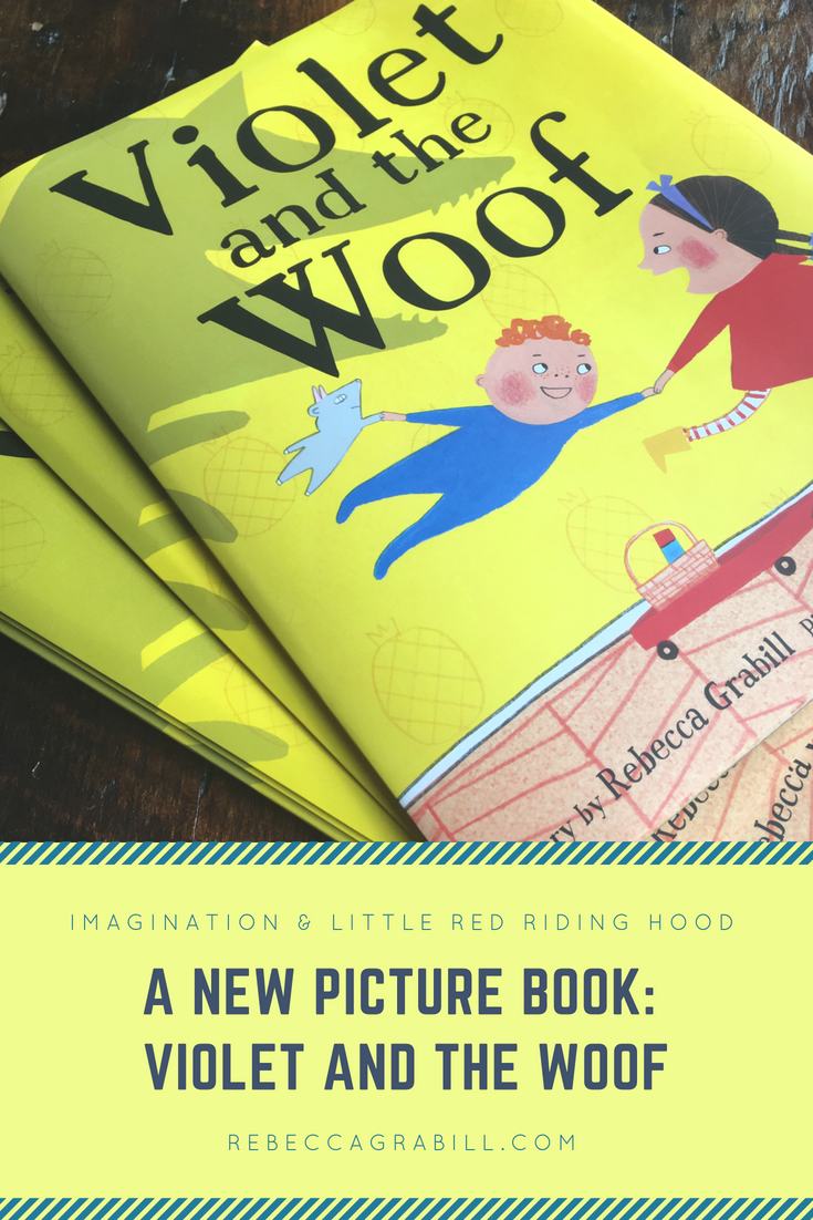 Rebecca Grabill's newest release, Violet and the Woof is a fun mashup of Little Red Riding Hood and Where the Wild Things Are, with twists and surprises galore. On her site she will be blogging about creativity, book creation, and books.