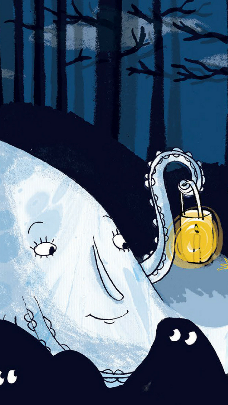 iPhone Halloween Good Night Wallpaper