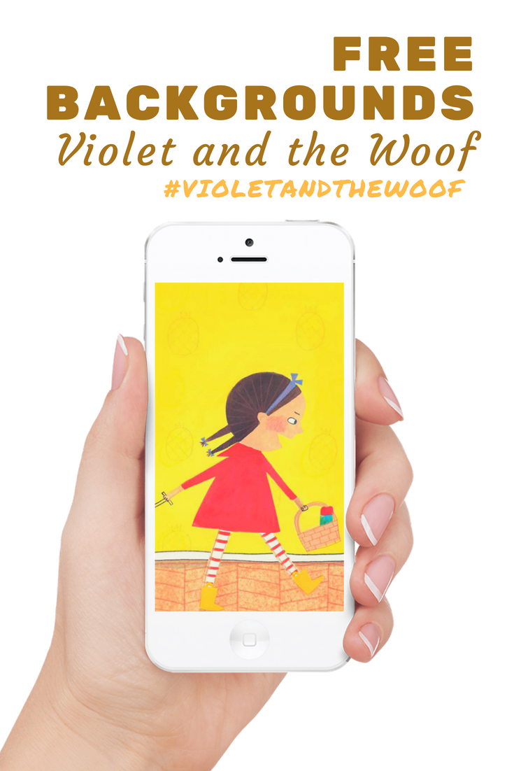 Free Violet and the Woof iPhone, iPad and desktop background wallpaper images! Carry sweet little Violet with you everywhere.