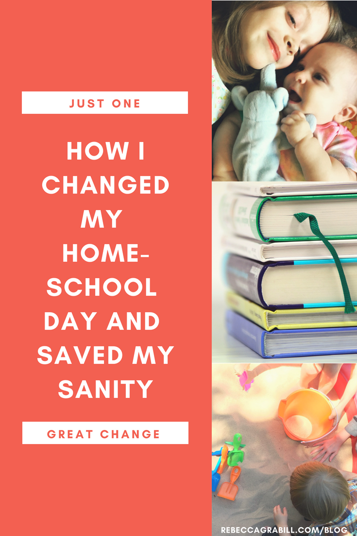 How i changed my 