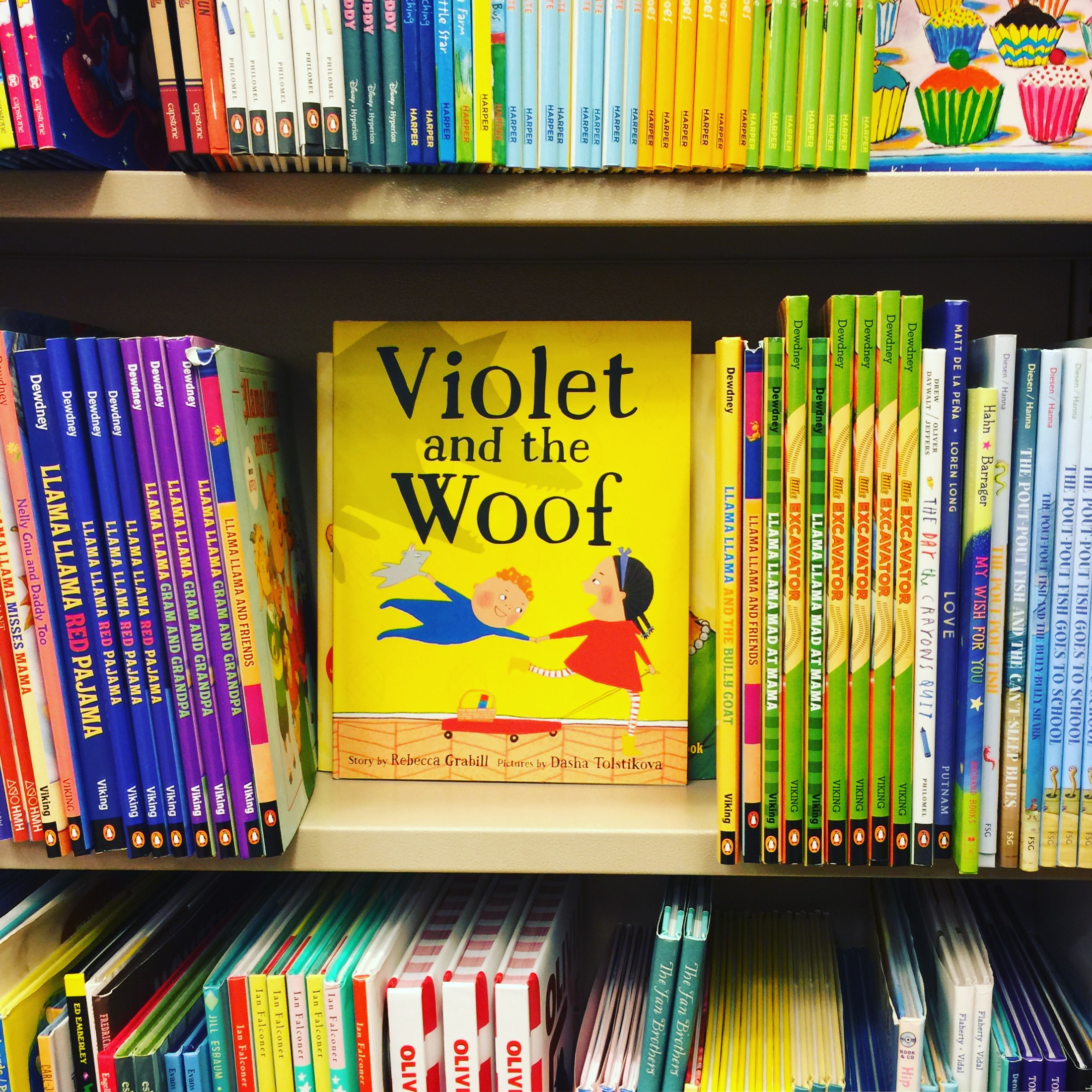 Violet in the Wild!