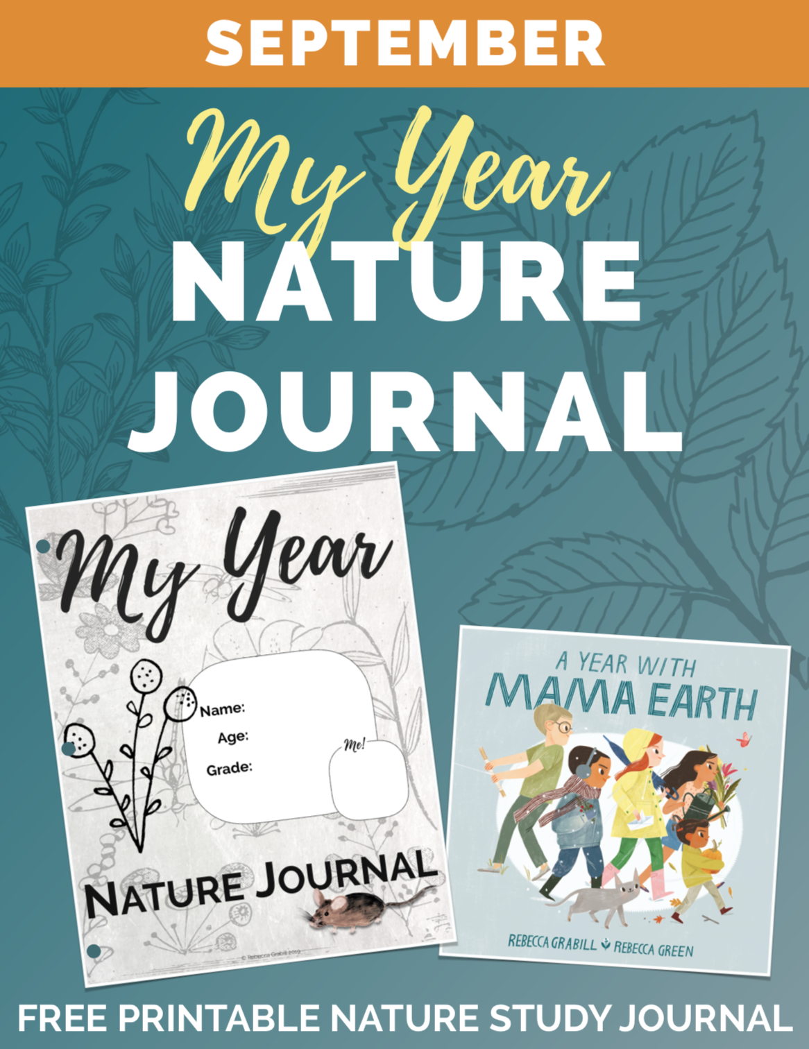 September - Nature Journal pages