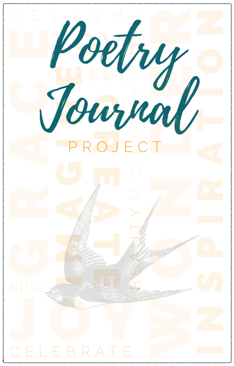 The Poetry Journal Project: Free Printable Poetry Journal for Adults