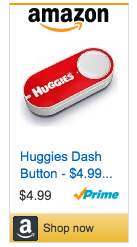 Huggies Dash Button