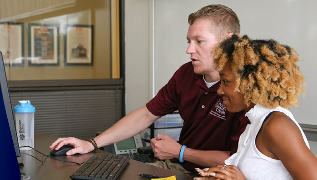 ACC's  College Destination Center  was set up in part to help students avoid summer melt with one-on-one assistance in transitioning to college.